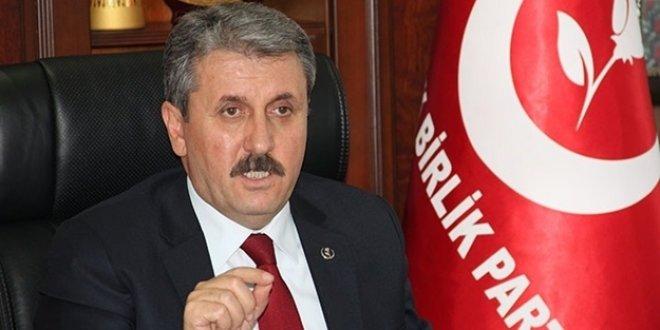 Mustafa Destici: İsrail'e yaptırım uygulanmalı