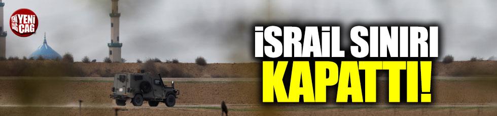İsrail, Gazze kapılarını kapattı