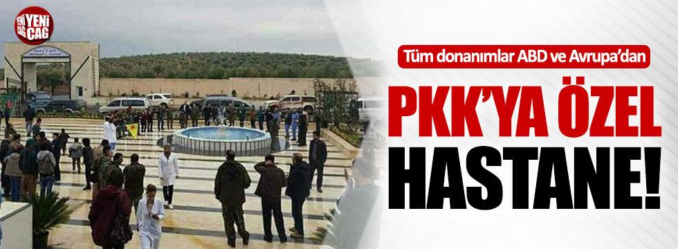 Afrin'e PKK'ya özel hastane