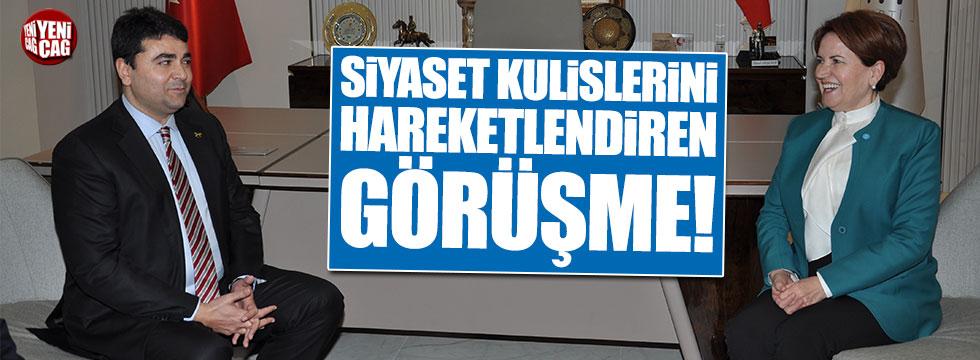 Meral Akşener, Demokrat Parti lideri Gültekin Uysal'la görüştü