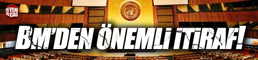 Birleşmiş Milletler'den Suriye itirafı