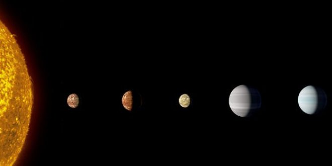 NASA güneş sisteminin benzerini buldu
