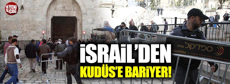 İsrail'den Kudüs'ün ana girişine  barikat