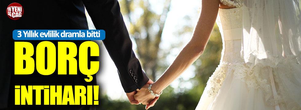 3 Yıllık evlilik dramla bitti