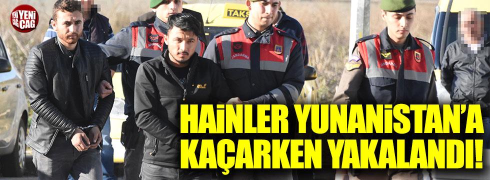 PKK'lı teröristler Yunanistan'a kaçarken yakalandı