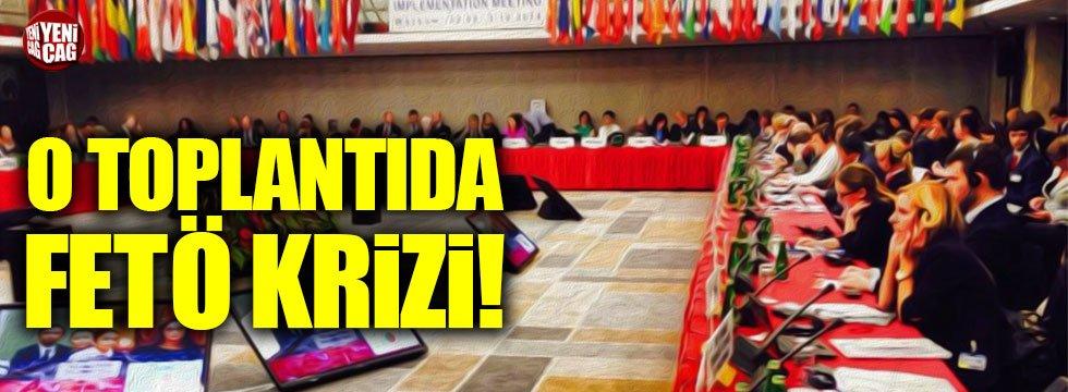 Güvenlik Teşkilatı toplantısında FETÖ krizi!