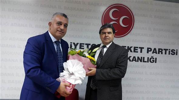 MHP Adana İl Başkanı istifa etti