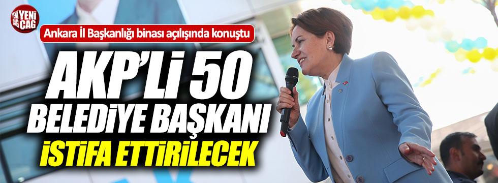 İYİ Parti Ankara İl Başkanlığı binası açıldı!