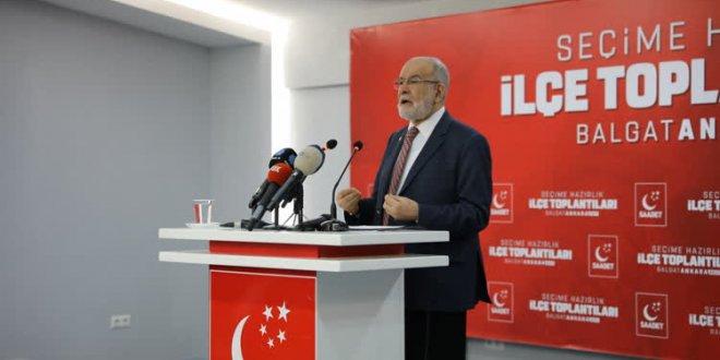 Karamollaoğlu'ndan hükümete eleştiri