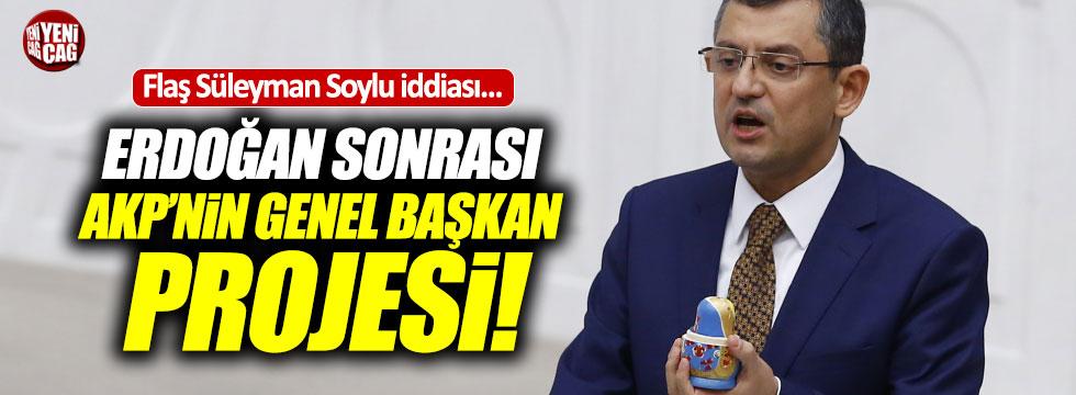 Özgür Özel'den flaş Süleyman Soylu iddiası