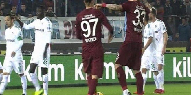 Trabzonspor'da Yusuf Yazıcı-Kucka tartışması