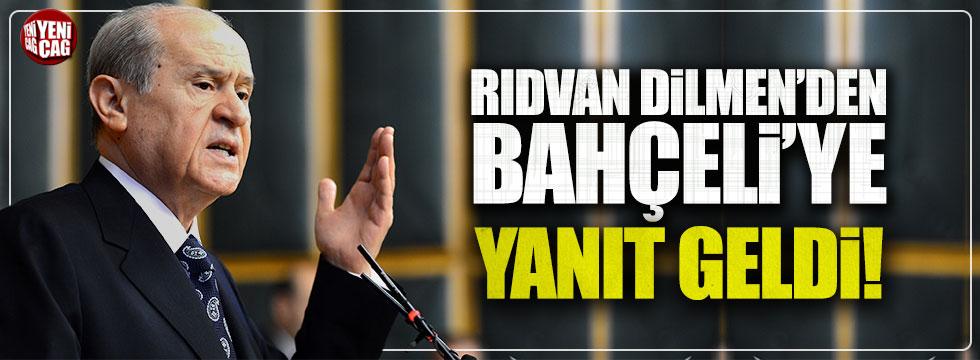 Rıdvan Dilmen'den Devlet Bahçeli'ye yanıt!