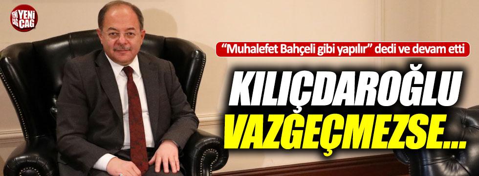 """Başbakan Yardımcısı Akdağ: """"Kılıçdaroğlu vazgeçmezse..."""""""