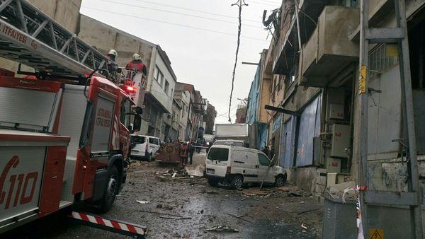 Gaziosmanpaşa'da buhar kazanı bomba gibi patladı