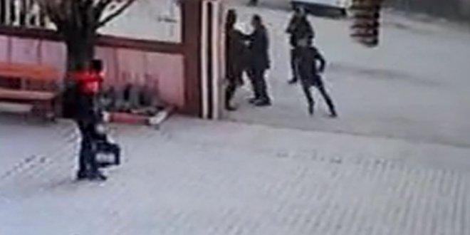 Müdür yardımcısına saldıranlar serbest