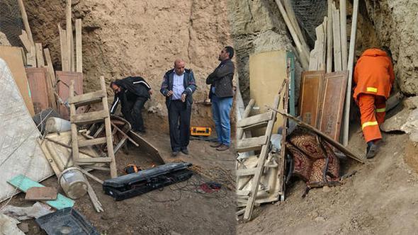 Garnizon Komutanlığı'na kazılmış tünel bulundu