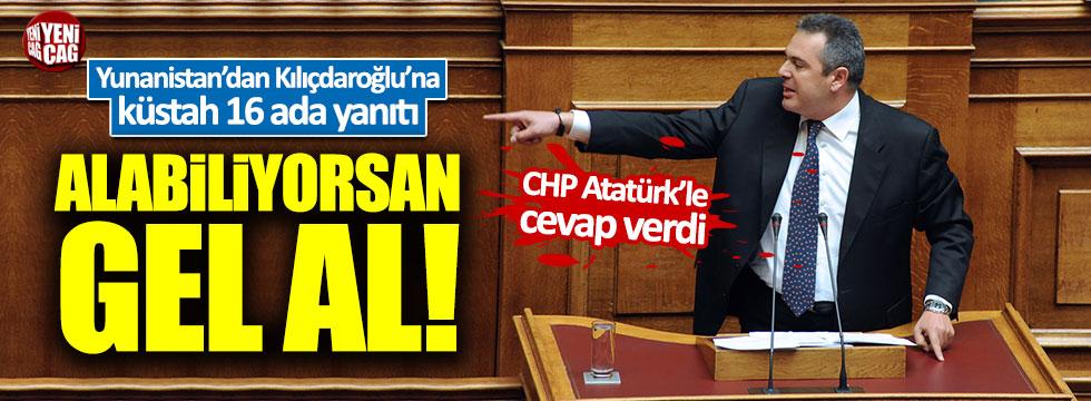 Yunanistan'dan Kılıçdaroğlu'na küstah cevap