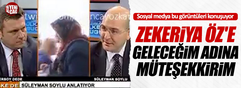 """Soylu: """"Zekeriya Öz'a müteşekkirim"""""""