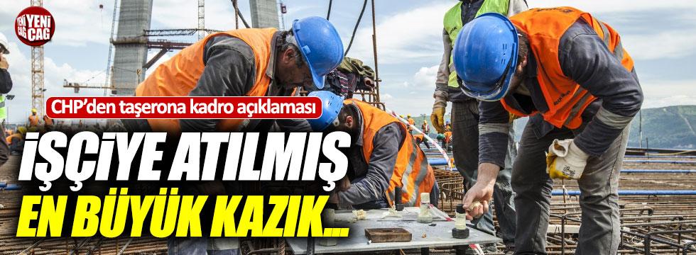 Ağbaba'dan taşerona kadro açıklaması