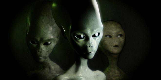 """""""Uzaylılar dünyayı ziyaret etti"""""""