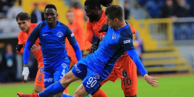Kasımpaşa - Başakşehir 1-2 (Maç Özeti)