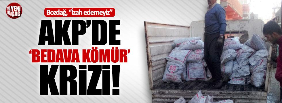 AKP'de kömür krizi