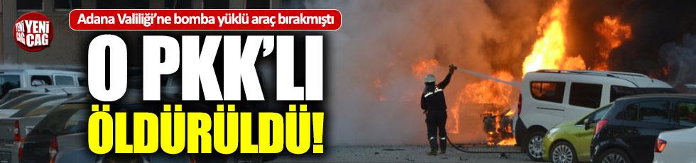 Adana bombacısı PKK'lı öldürüldü