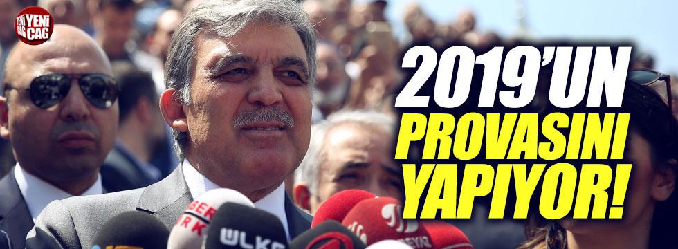"Şamil Tayyar: ""Abdullah Gül, 2019'un provasını yapıyor"""
