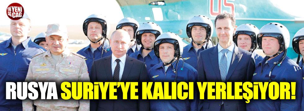 Rusya Suriye'ye kalıcı yerleşiyor