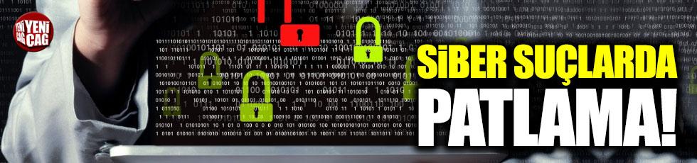Türkiye'de siber suçlarda patlama
