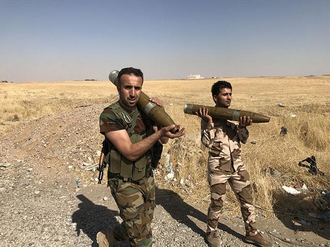 Peşmerge Irak'ta teyakkuza geçti