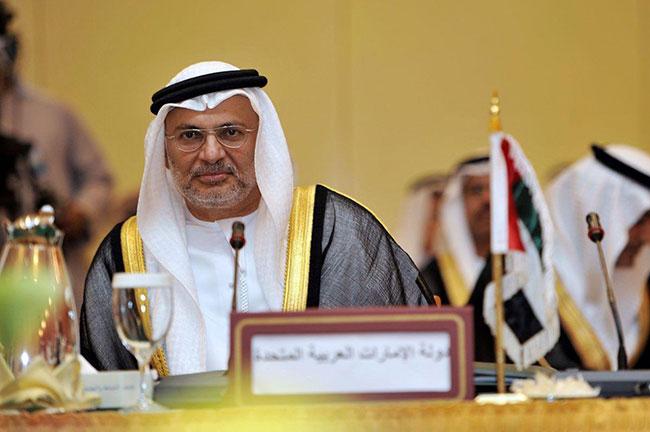 BAE Dışişleri Bakanı Gargash'tan tartışma yaratacak bir paylaşım daha