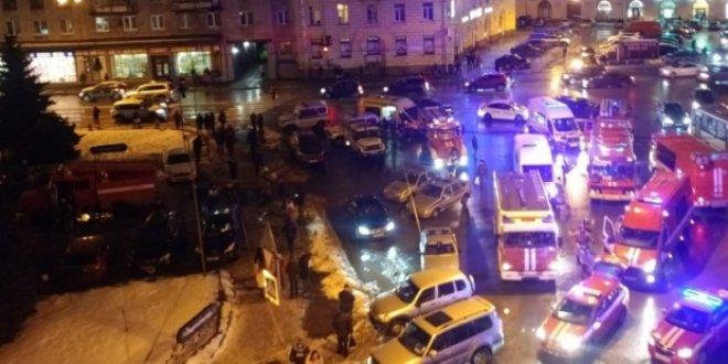 Rusya'da patlama: Çok sayıda yaralı var