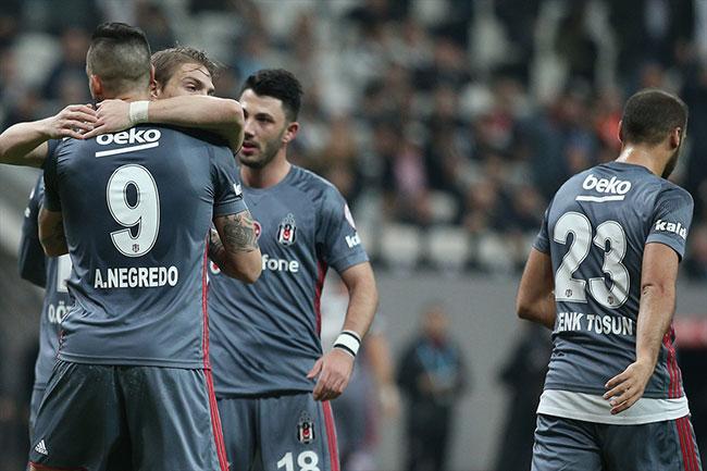 Beşiktaş Osmanlıspor'u rahat geçti