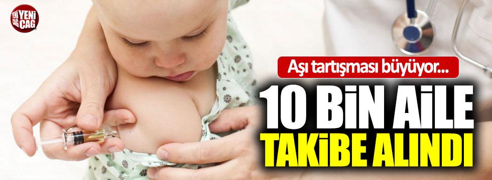 10 bin aile bebeğine aşı yapılmasını reddetti