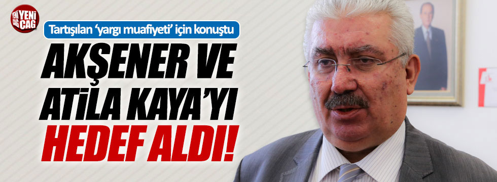 MHP'li Yalçın'dan, Akşener ve Kaya'ya tepki!