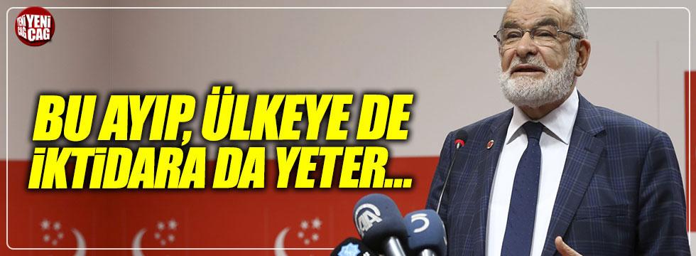 """Karamollaoğlu: """"Bu ayıp, ülkeye de iktidara da yeter!"""""""