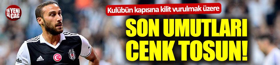 Kapanma aşamasında olan Gaziantepspor'da son umut Cenk Tosun