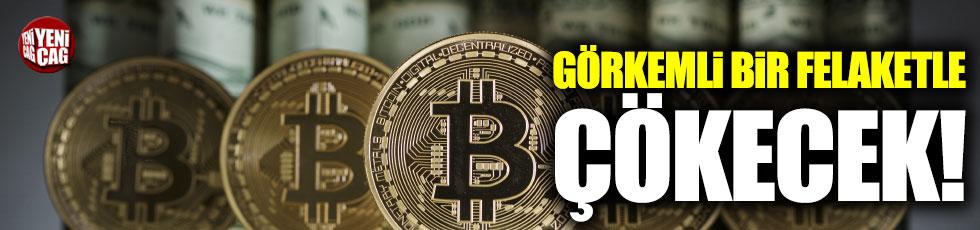 'Bitcoin görkemli bir felaketle çökecek'