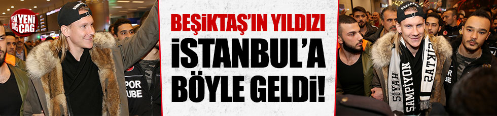 Domagoj Vida İstanbul'da