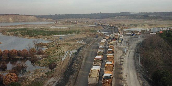 İstanbul'da 11 bin kamyon takibe alınacak