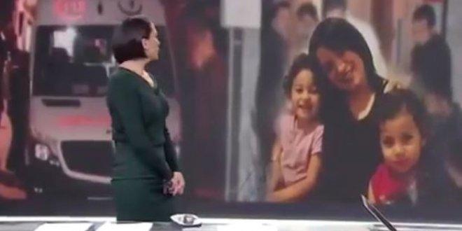 Annenin feryadı spikeri gözyaşlarına boğdu