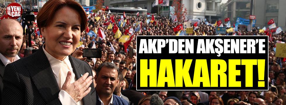 AKP'li Ahmet Sorgun'dan Meral Akşener'e hakaret