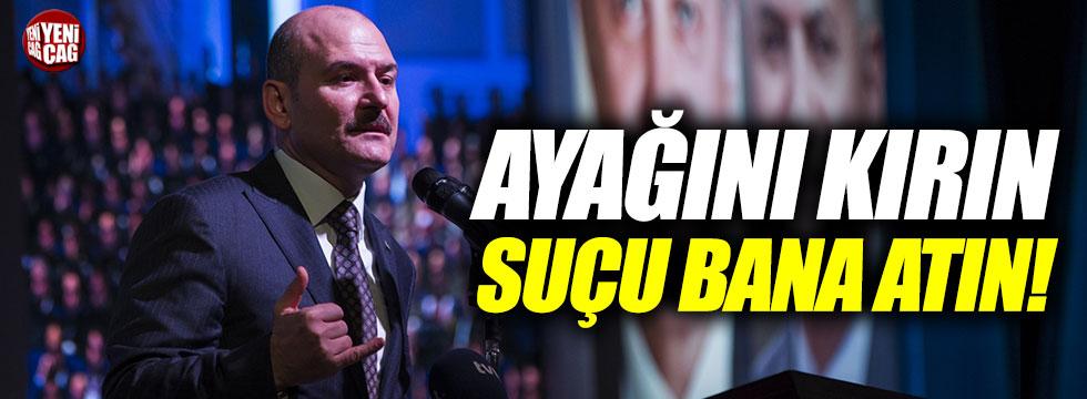 """İçişleri Bakanı Soylu'dan polislere: """"Suçu bana atın"""""""
