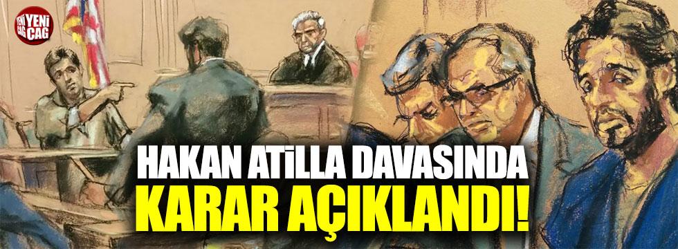 Hakan Atilla davasında karar açıklandı!