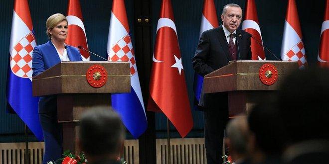 """Erdoğan: """"FETÖ Balkanlardan temizlenmeli"""""""