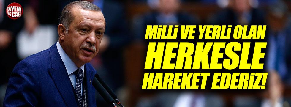 """Erdoğan: """"Seçim ittifakını milli mutabakat olarak görüyoruz"""""""