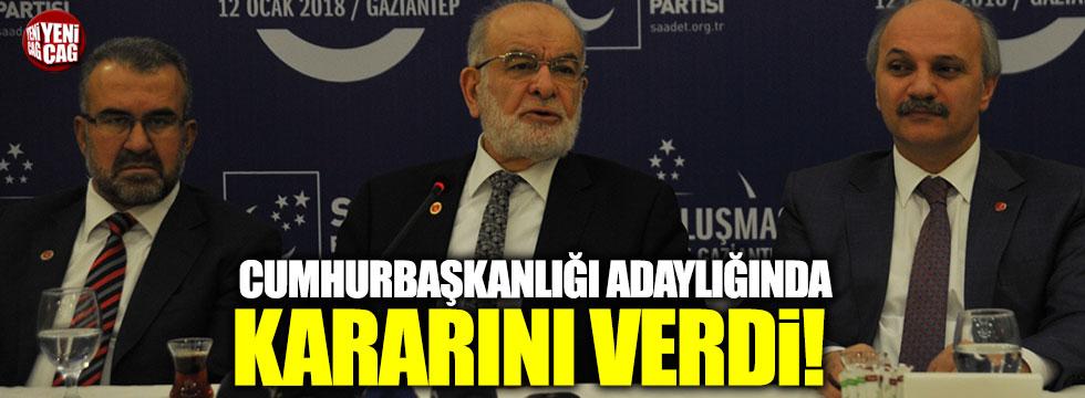 Karamollaoğlu'ndan Cumhurbaşkanlığı adaylık açıklaması!