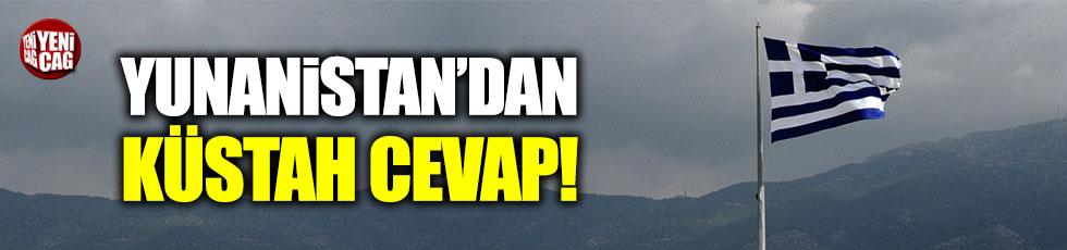 Yunanistan'dan Türkiye'ye küstah cevap!