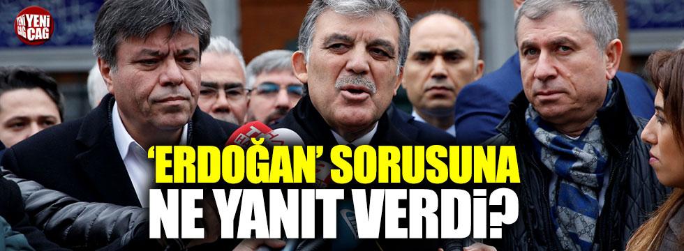 """Abdullah Gül: """"Polemiğe girmek bana yakışmaz"""""""